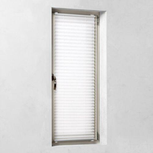 Kronborg 90×130 cm harmónika roló, pliszé függöny, fúrás nélkül, fehér
