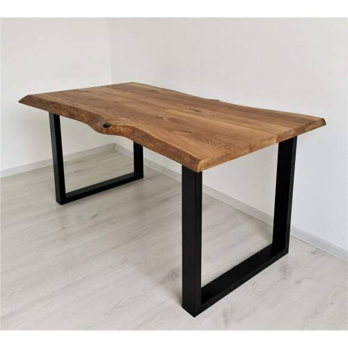Bestloft acél asztalláb, 2 db, fekete, 100 x 72 cm