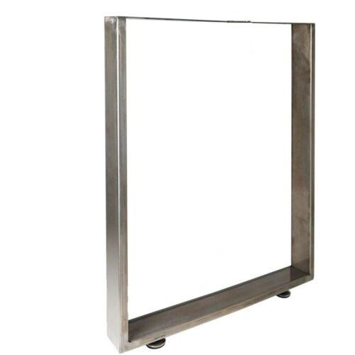 JWS acél asztalláb szett, 70×72 cm, 2 db