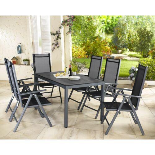 Casaria összecsukható, dönthető kerti szék, 2 db