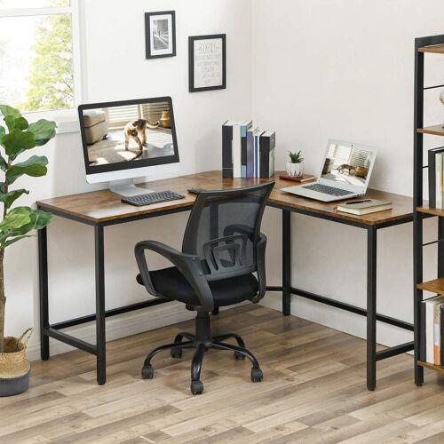 L alakú számítógépes irodai asztal