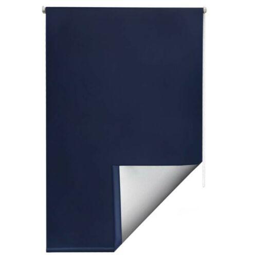 Sol Royal hőszigetelő roló 110×160 cm, fúrás nélkül, kék