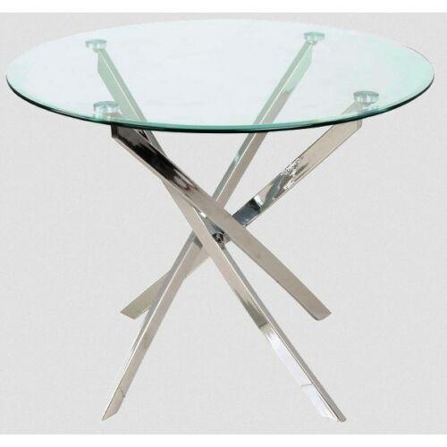 Agis üveg asztallap, 90 cm