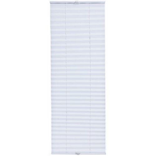 [neu.haus] harmónika roló 35X125 cm, pliszé függöny, fúrás nélkül, fehér