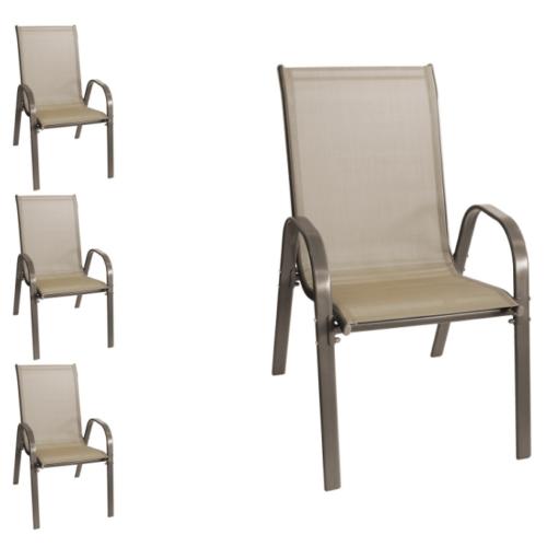 """Wohaga """"New York"""" kerti szék szett, 4 db"""