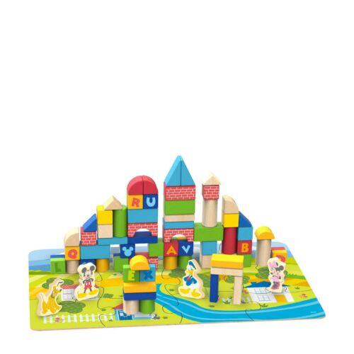 Disney építőkockák dobozban, Disney figurákkal