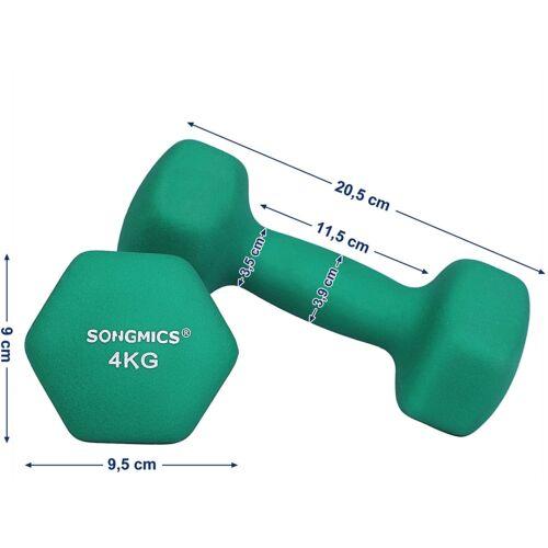 Songmics egykezes kézisúlyzó, 4 kg