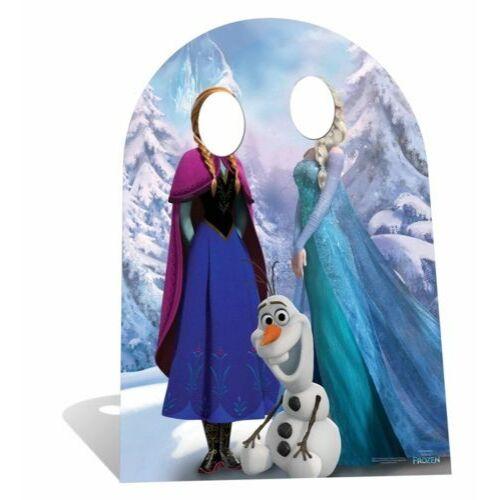 Disney Jégvarázs arckivágásos fotófal