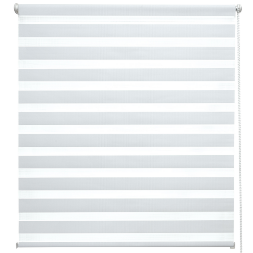 Sol Royal sávos roló, dupla roló, zebra roló, fehér, 95×150 cm, fúrás nélkül