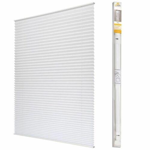 SolRoyal 80 X 150 cm pliszé, harmónika roló, fúrás nélkül, fehér