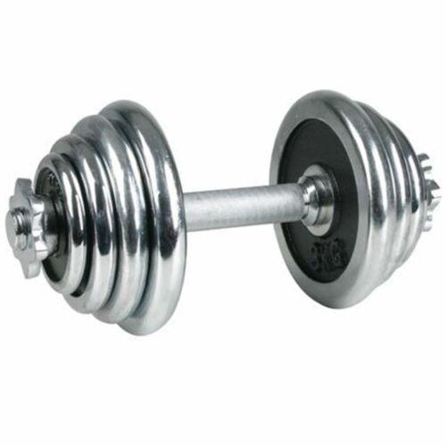 Egykezes Krómozott súlyzó, Avento, 15 kg