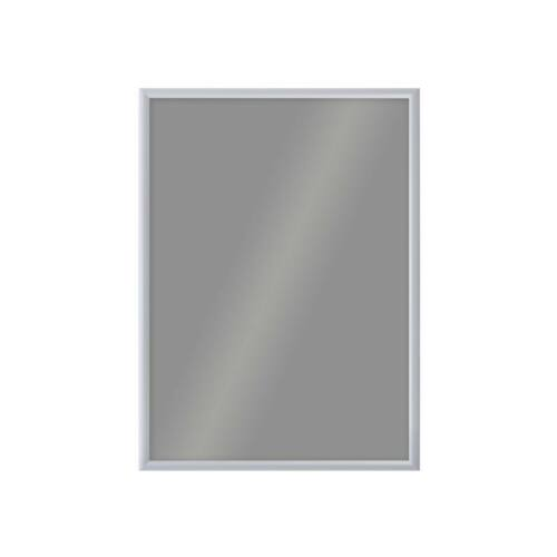 Plakáttartó keret, clipkeretes, A1, ezüst