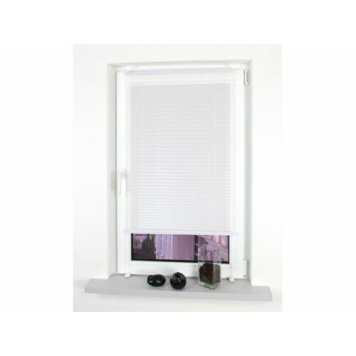 Liedeco 60 x 150 cm feszített harmónika roló / pliszéfüggöny, fúrás nélkül, fehér