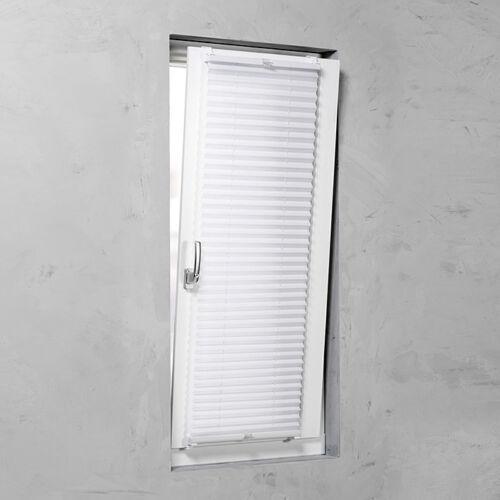 Basic 90 x 130 cm feszített harmónika roló, pliszé, fúrás nélkül, fehér