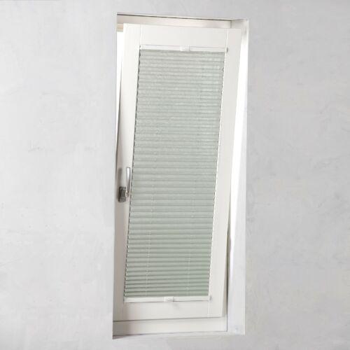 Kronborg 90×130 cm feszített harmónika roló, pliszé függöny, világosszürke