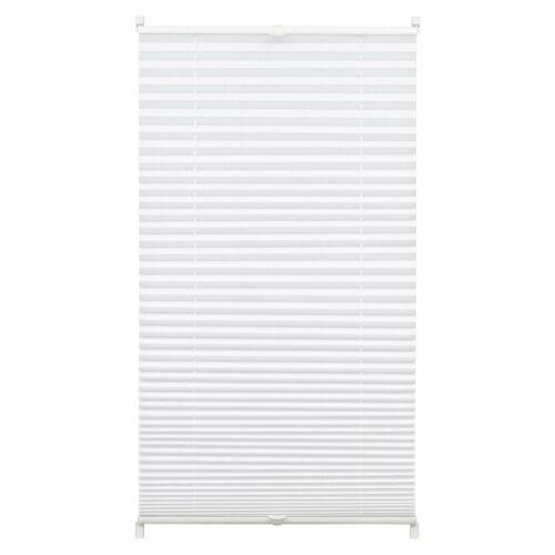 Gardinia 80×130 cm harmónika roló, pliszé függöny, fúrás nélkül, fehér