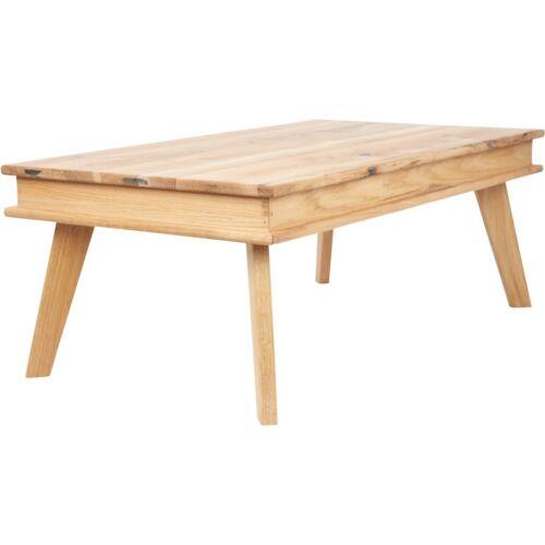 Mutoni tömör tölgyfa dohányzóasztal, 110x60x38 cm, B. kategória