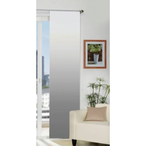 Home Wohniden 60 x 245 cm csúszó függöny, fehér-szürke
