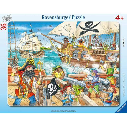 Ravensburger 36 db-os keretes puzzle – Csata a nyílt tengeren (06165)