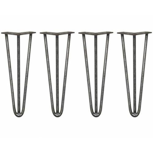 Hairpin leg acél hajtűláb 35,5 cm, 4 db (24203)
