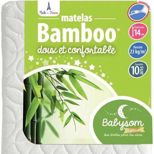 Babysom bambusz gyerekmatrac, 60×120 cm