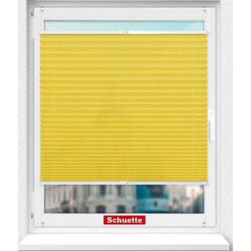 Schuette 60×100 cm harmónika roló, pliszé függöny, fúrás nélkül, sárga