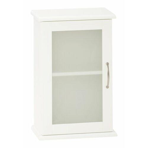 Skals fali szekrény, fehér