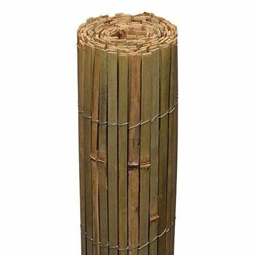 SolRoyal bambusz árnyékoló/kerítés, 1,6×6 méter