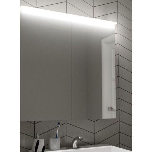 Fürdőszobai fali tükör led világítással, 60×90 cm